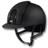 KEP ITALIA HELMET MODEL CROMO T, INSERT FRONT AND REAR BLACK GLITTER