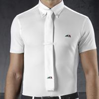 EQUILINE POLO SHIRT mod. X-FIT CARLOS for MAN IN TECHNICAL FABRIC for COMPETITION