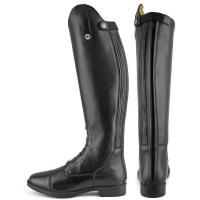 DERBY CHILDEREN'S RIDING BOOTS WITH LACES AND ZIP