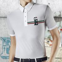 POLO MAN EQUILINE model SEAN SHORT SLEEVE WITH LOGO