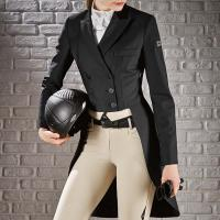 HUNTER DRESSAGE TAILCOAT FRAC WOMAN EQUILINE model MACKENZIE CUSTOMIZABLE