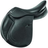 SUPREME JUMPING SADDLE SYDNEY model IN DOUBLE LEATHER