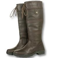 BOOTS BROWN LEATHER FASHION model BELMOND SPRING