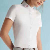 COMPETITION SHIRT CAVALLERIA TOSCANA WOMEN SNAP
