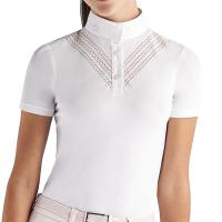 COMPETITION POLO CAVALLERIA TOSCANA GIRLS PERFORATED DOUBLE V