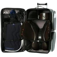 TROLLEY TRAVEL BAG RACK HOLDER FOR SADDLE AND ACCESSORIES - 0212