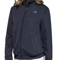 UNISEX SWEATSHIRT EQUILINE KART WITH ZIP
