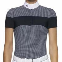 LADIES COMPETITION POLO GINGHAM CHECK CAVALLERIA TOSCANA