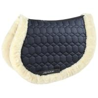 EQUILINE ENGLISH SADDLE PAD IN ECOLOGICAL LAMB SNUGGLY MODEL
