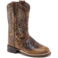WESTERN LADIES AND JUNIOR BOOTS OLD WEST AGED EFFECT - 4315