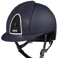 KEP ITALIA HELMET model CROMO T with matching PYTHON LEATHER