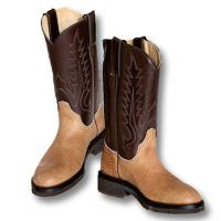 WESTERN BOOTS IN BULL LEATHER, SANCHO BOOTS brand