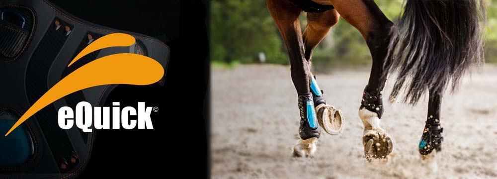 Innovative eQuick Horse protections with exclusive technology!