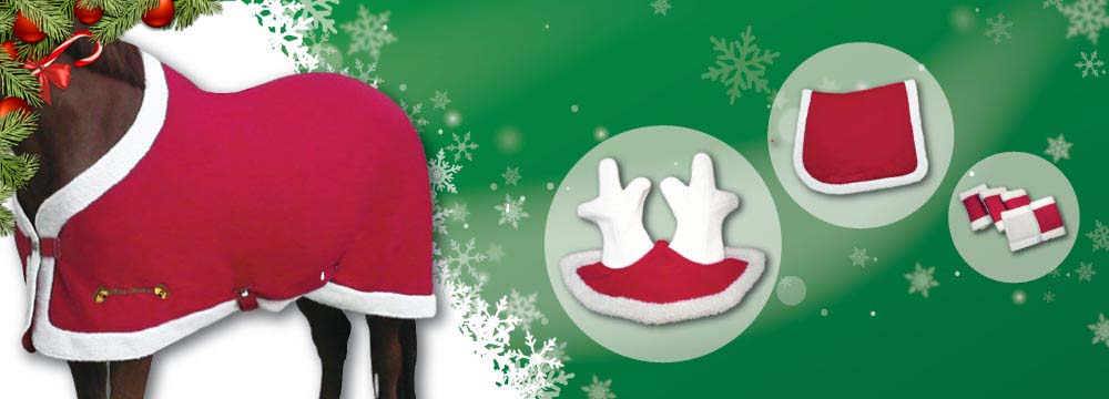 Christmas Horse Accessories: Limited Edition, discover your favorites!
