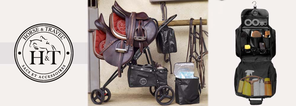 Saddle Sherpa, the Trolley for double Saddle and Accessories!