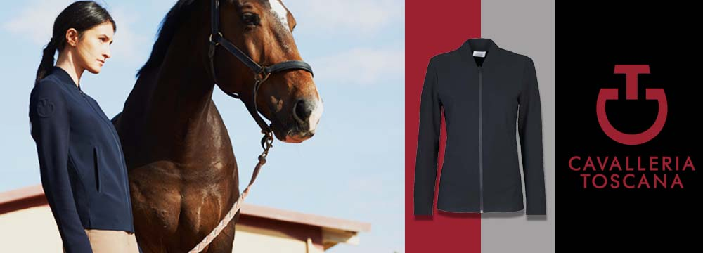 New Cavalleria Toscana Embossed Jersey Jacket: Launch Offer!