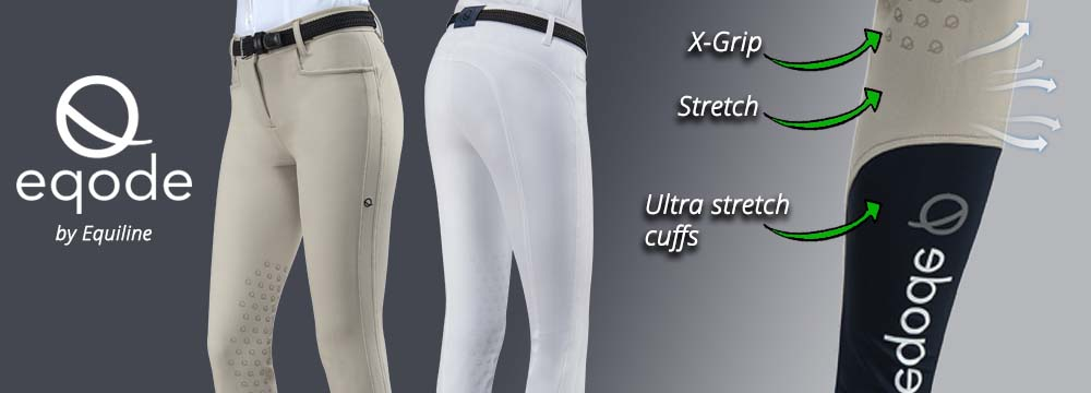 Eqode by Equiline Breeches: high quality/price ratio
