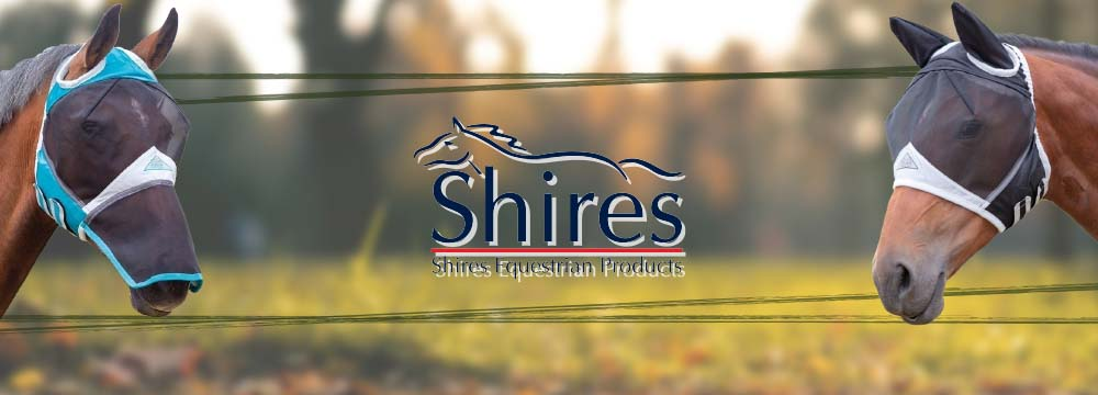 SHIRES Masks: it's Time to Protect your Horse from Insects!