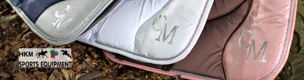 Saddlecloth HKM Soft Powder model