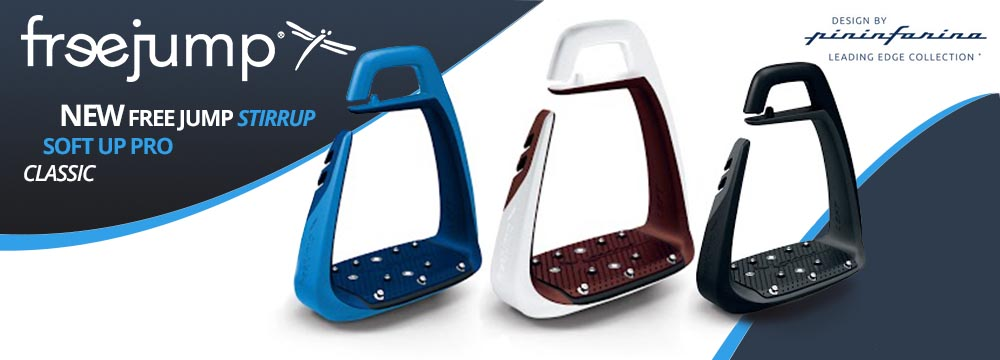 New Model Freejump stirrups SOFT UP CLASSIC