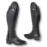 PIONEER RIDING BOOT LEATHER WITH BACK ZIP AND LACES