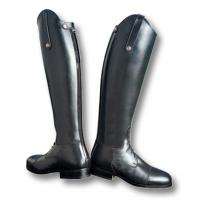 CUSTOM MADE RIDING BOOTS SARM HIPPIQUE, BACK ZIP and STRINGS